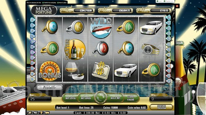 mega fortune casino 777