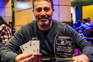 Armando Di Giorgio in testa al chipcount di Only The Barracudas 38 dopo il Day 1C