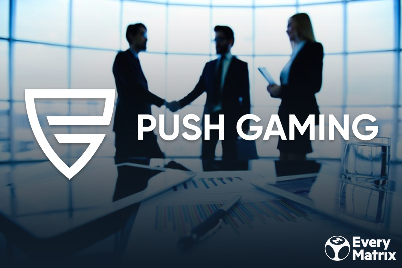 Push Gaming annuncia l'integrazione con CasinoEngine di EveryMatrix